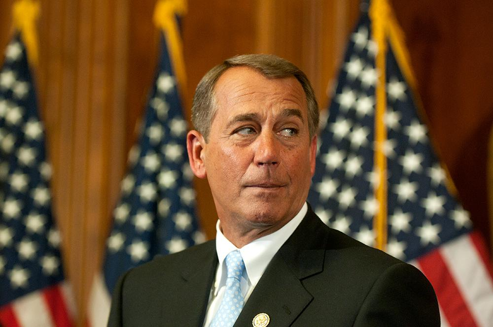 John Boehner to Reporter Asking About Amtrak Funding: That ...