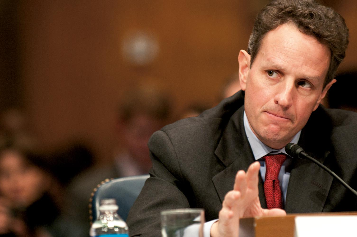 Geithner Book: When Obama Blew a Dog Whistle and a Budget Deal
