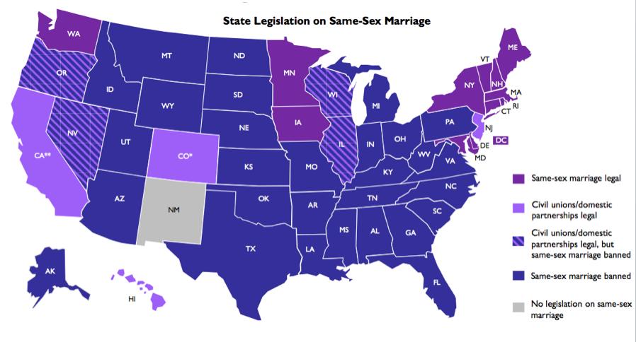 Same sex marriage illinois house