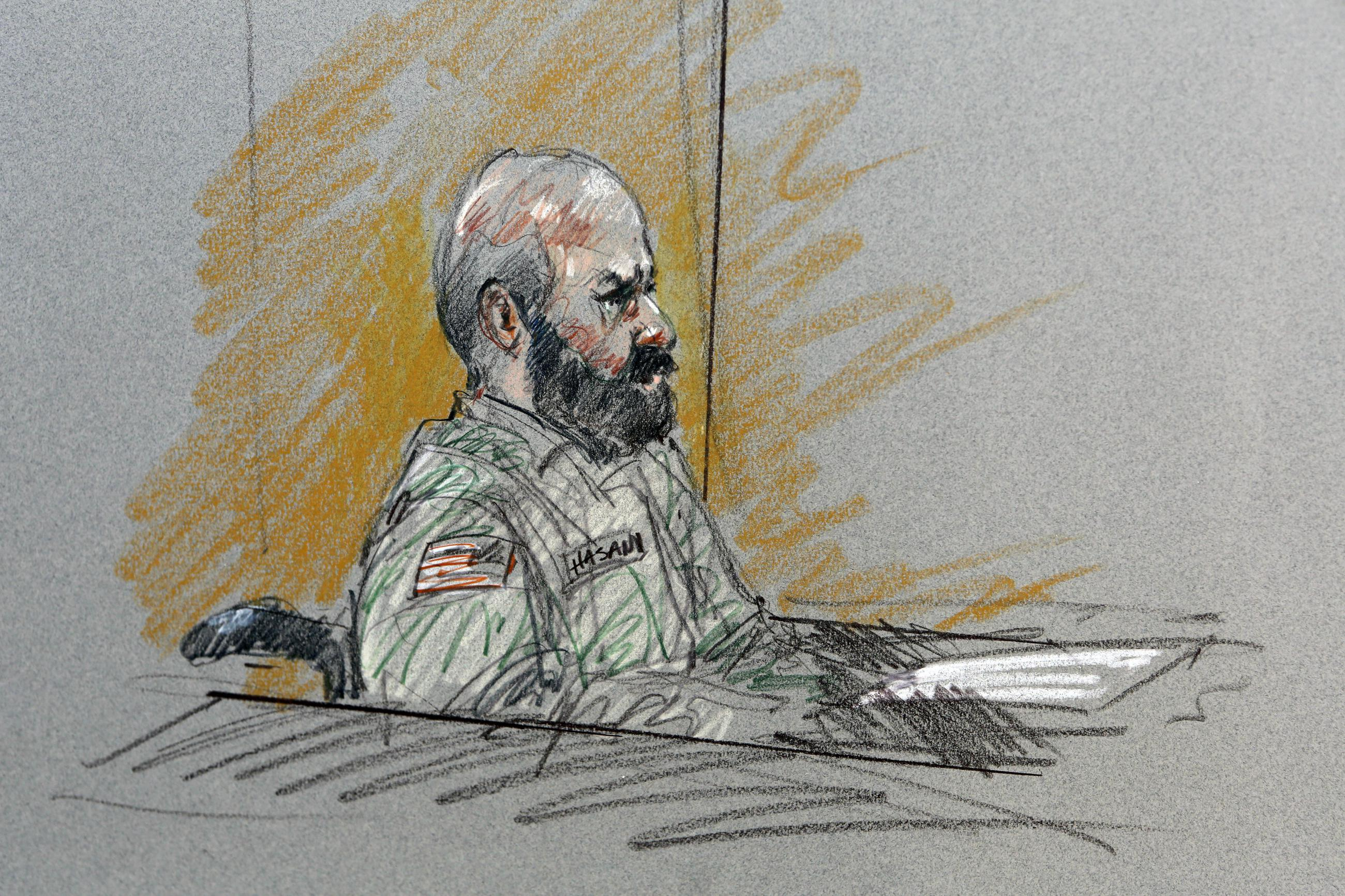 Fort Hood Shooter Gets the Death Penalty He Allegedly Sought