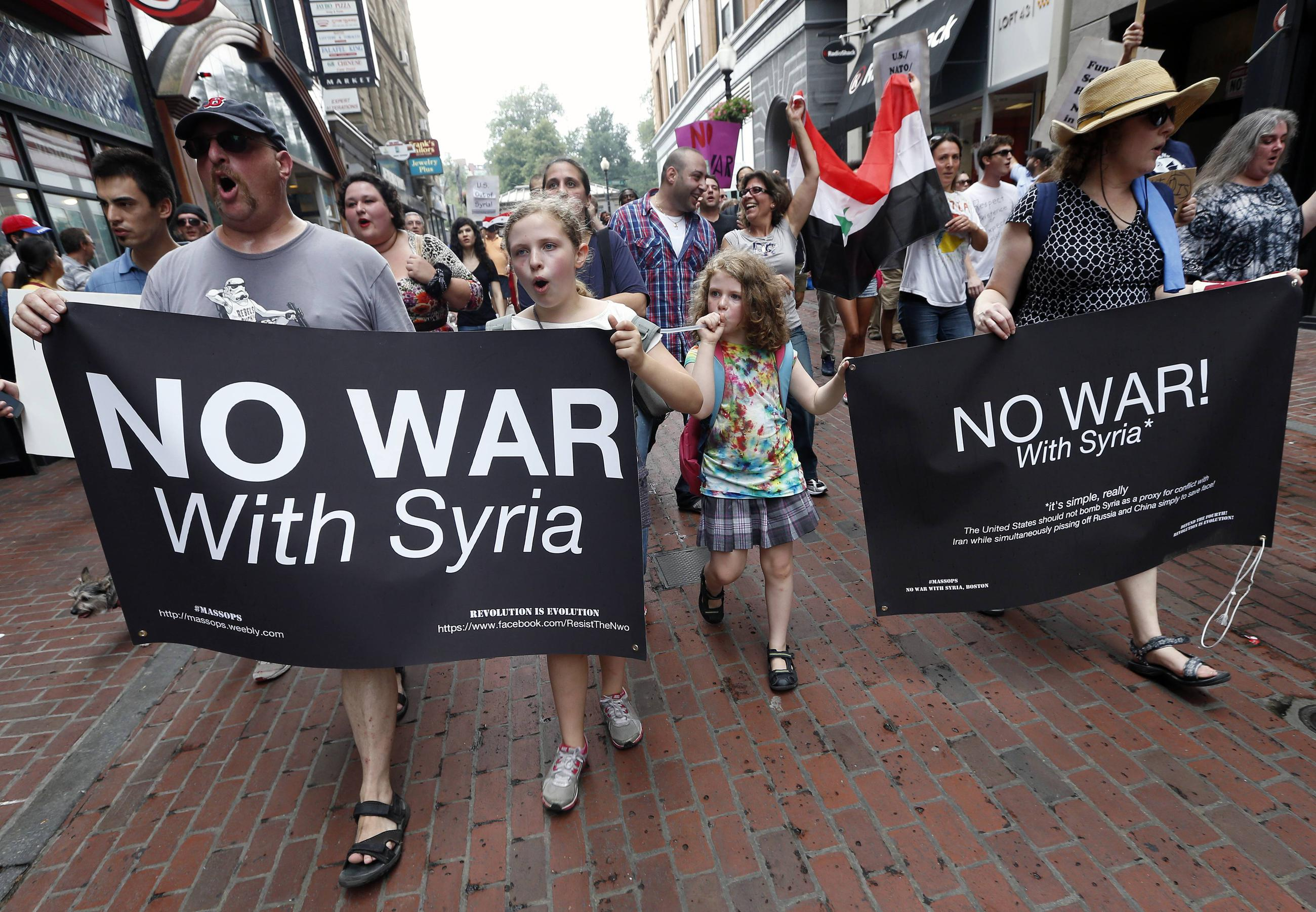 Americans Overwhelmingly Oppose Syria Strike, Want Obama to Back Down