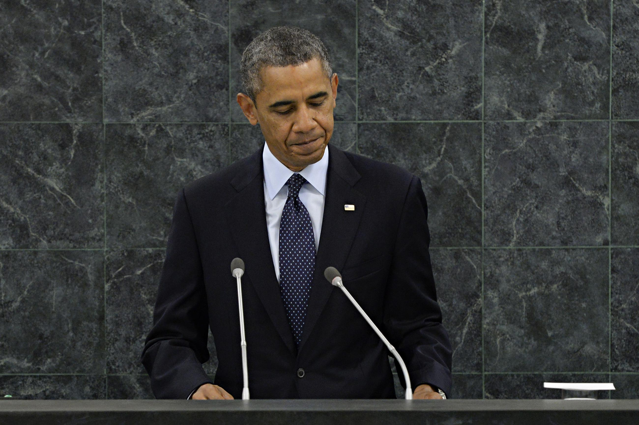 Obama's Evolution on Syria at the United Nations