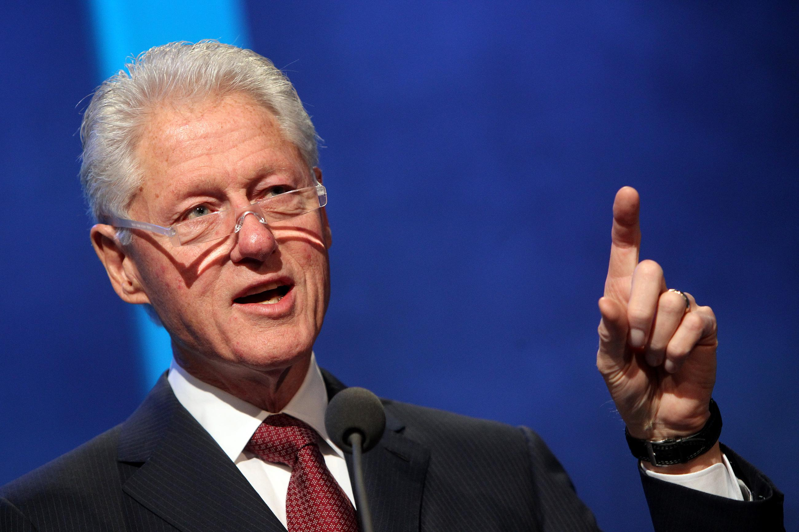 Bill Clinton: 'If I Were President, I Wouldn't Negotiate' Over Funding Government