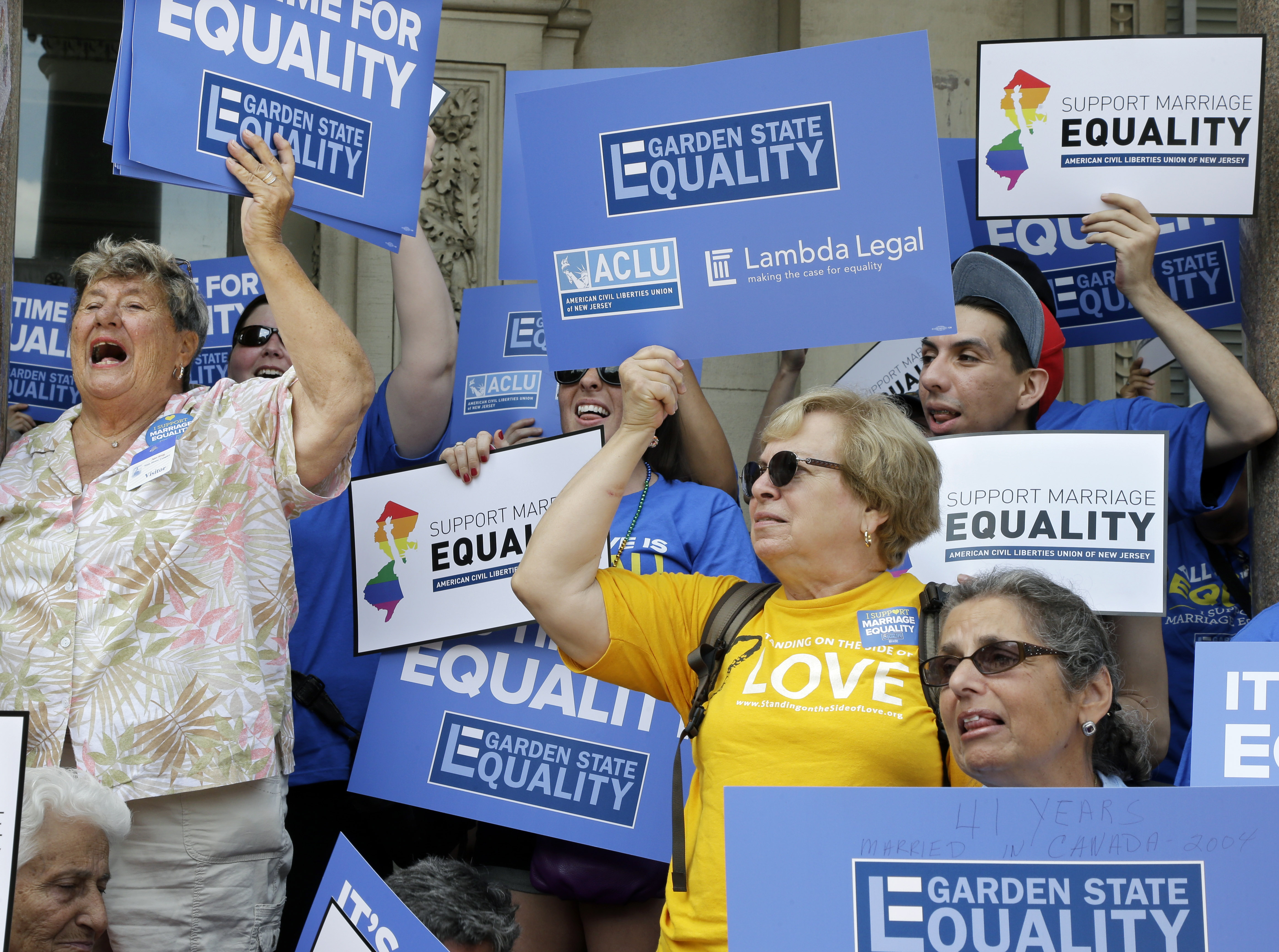 the legalization and media coverage of same sex marriage in the state of new jersey And same-sex marriage was again legal new jersey vermont became the first state to legalize gay marriage by to legalize same-sex marriage in.
