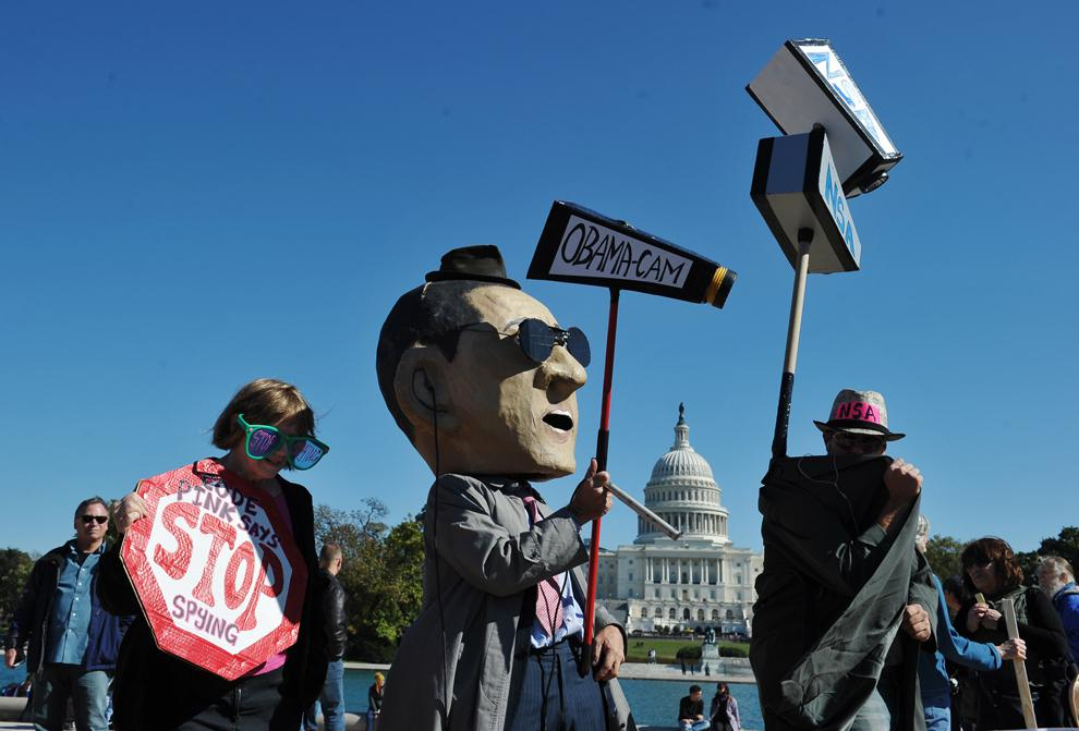 Coalition of Google, Facebook, and Other Tech Giants Joins Mass NSA Protest