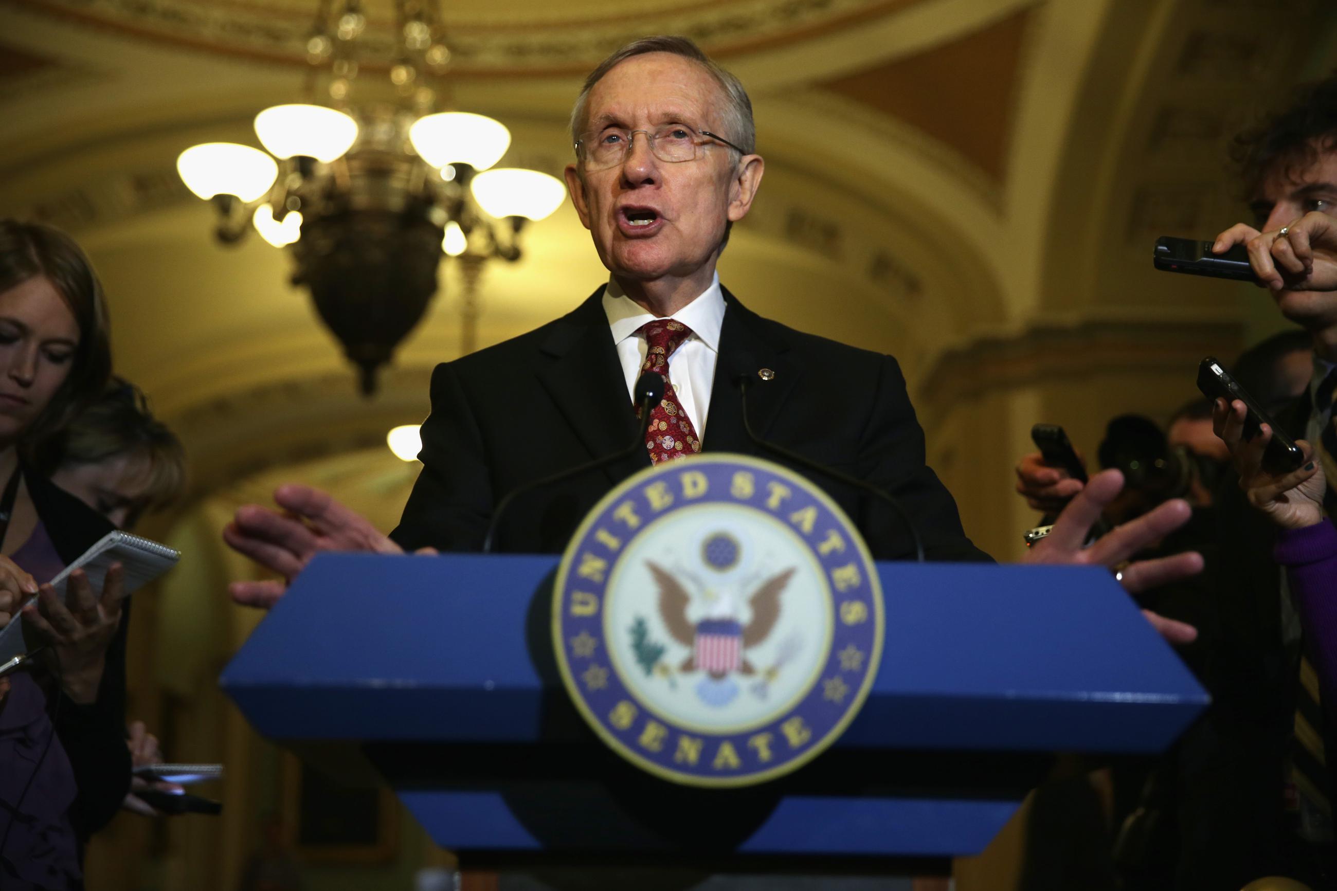 Sen. Harry Reid Gets Ready to Go Nuclear