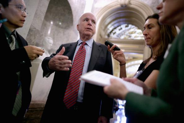 A Brief History of John McCain Loudly Reprimanding People for Endorsing the Same Thing He Endorsed