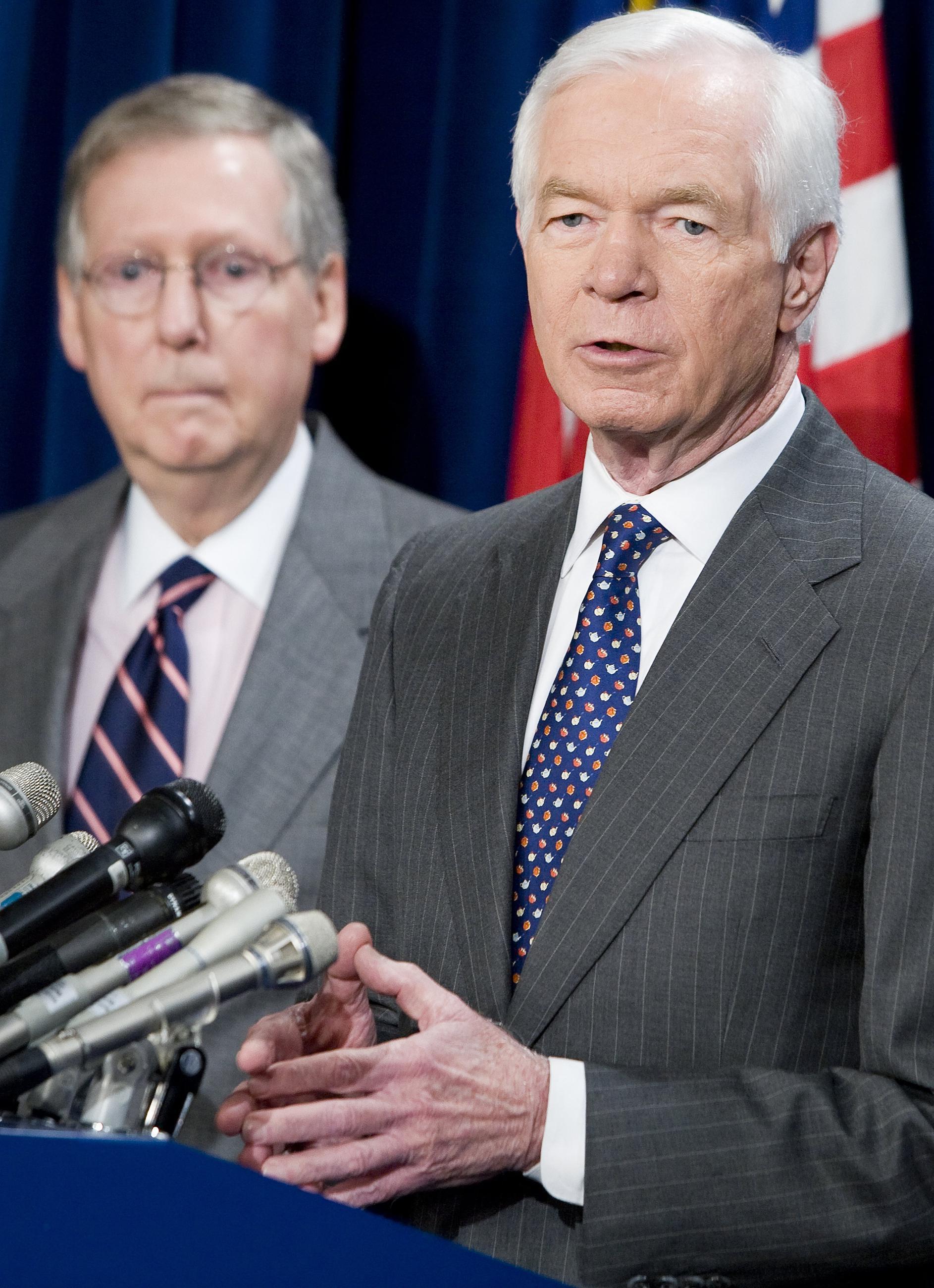Ranking the Top 5 Senators Vulnerable in 2014 Primaries
