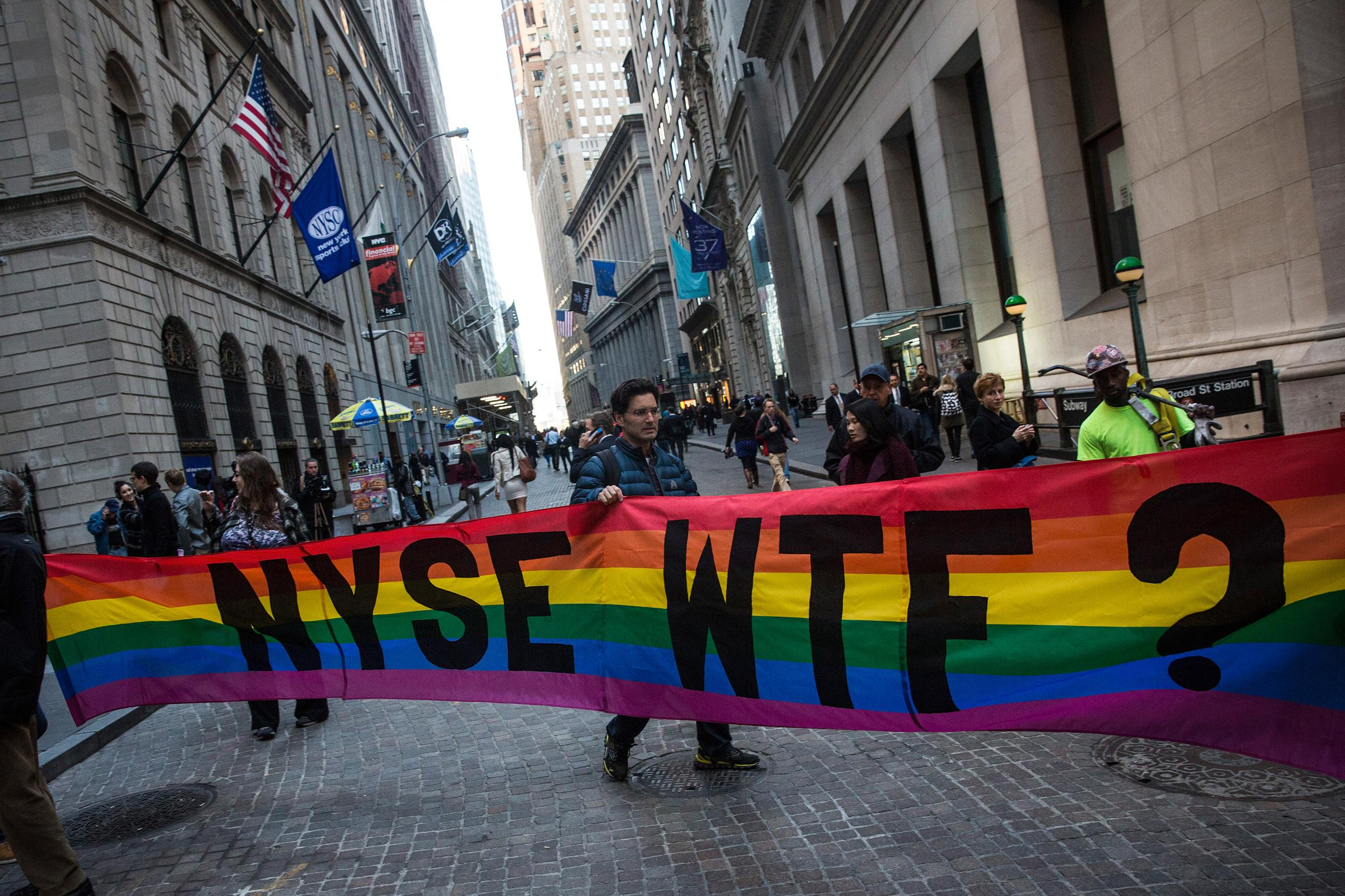 Anti gay group
