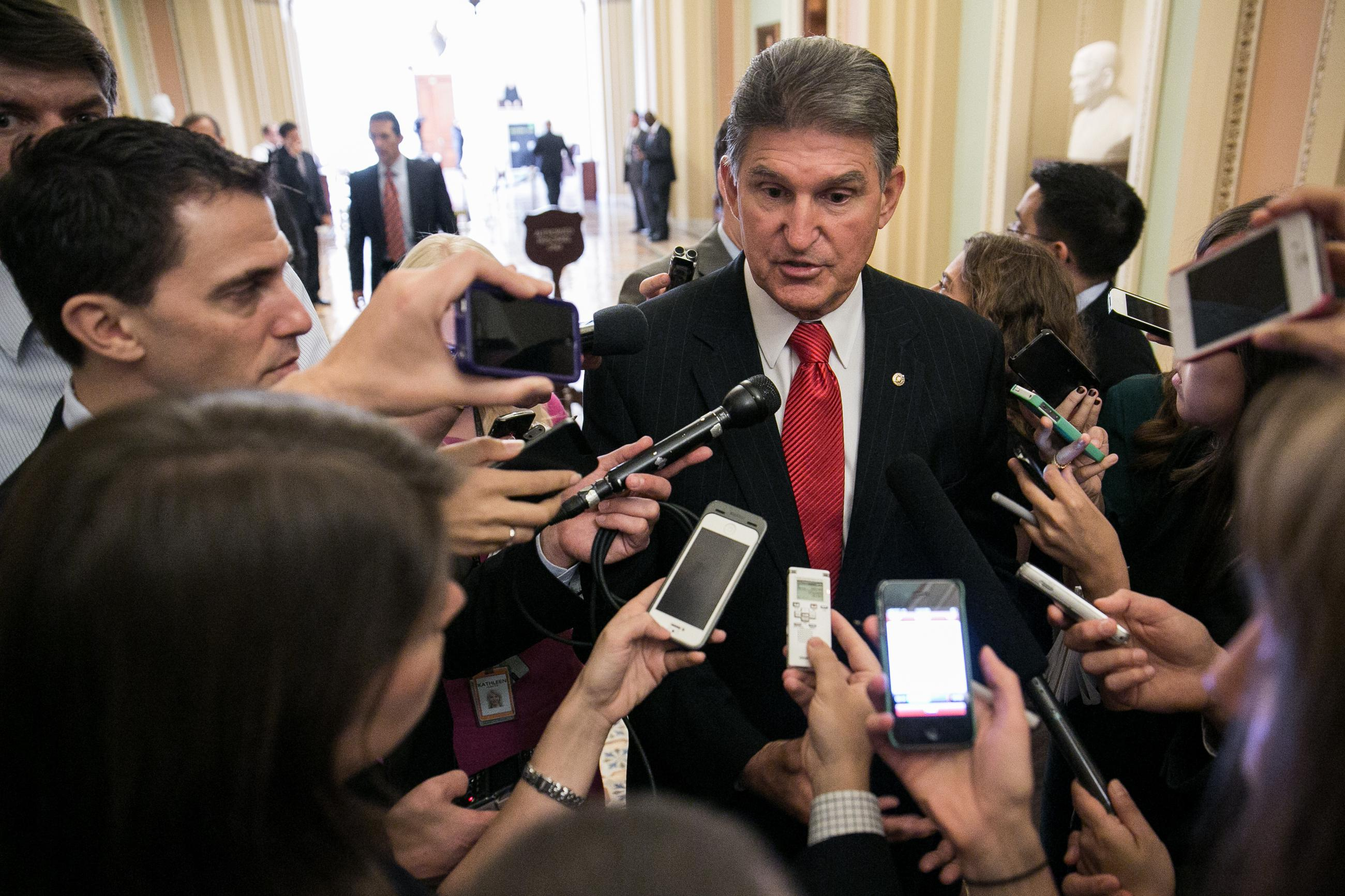 Senator Manchin: What My Daughter Did Should Be Illegal