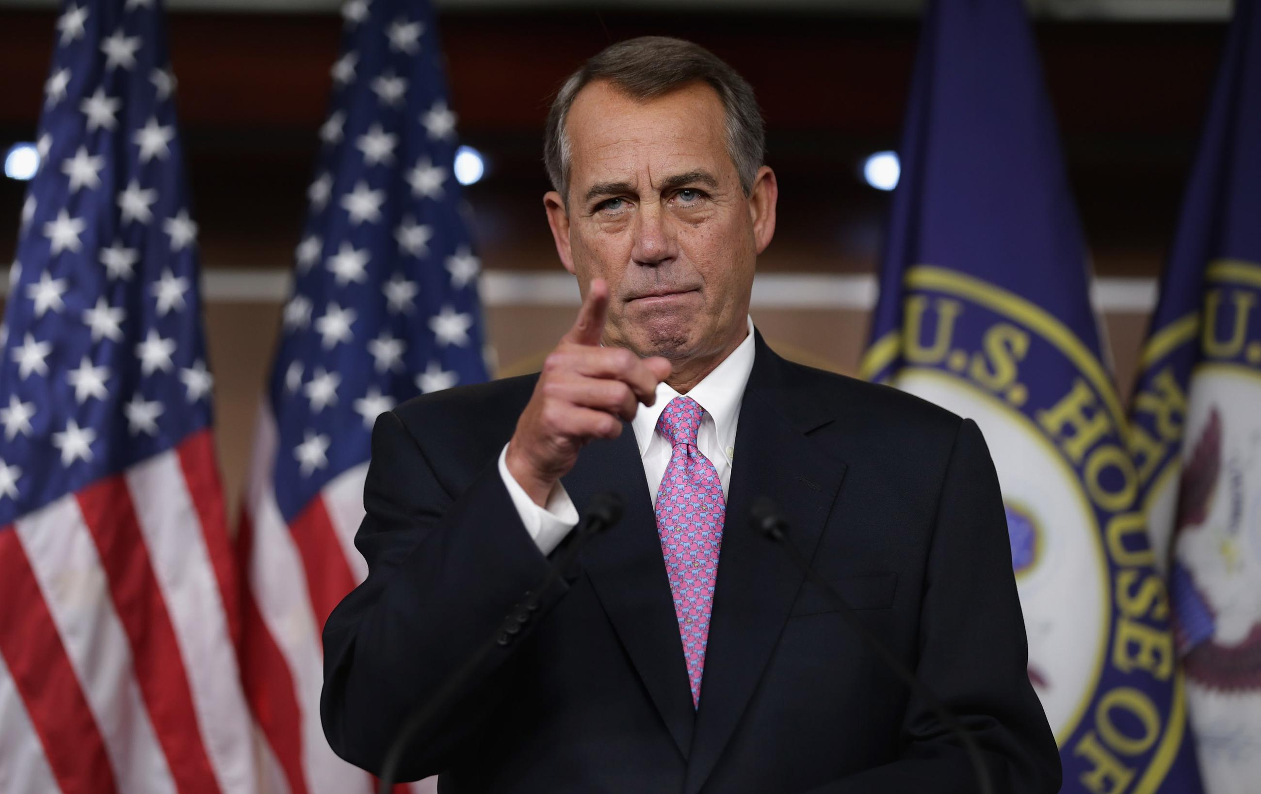 John Boehner Had the Best Year in Washington
