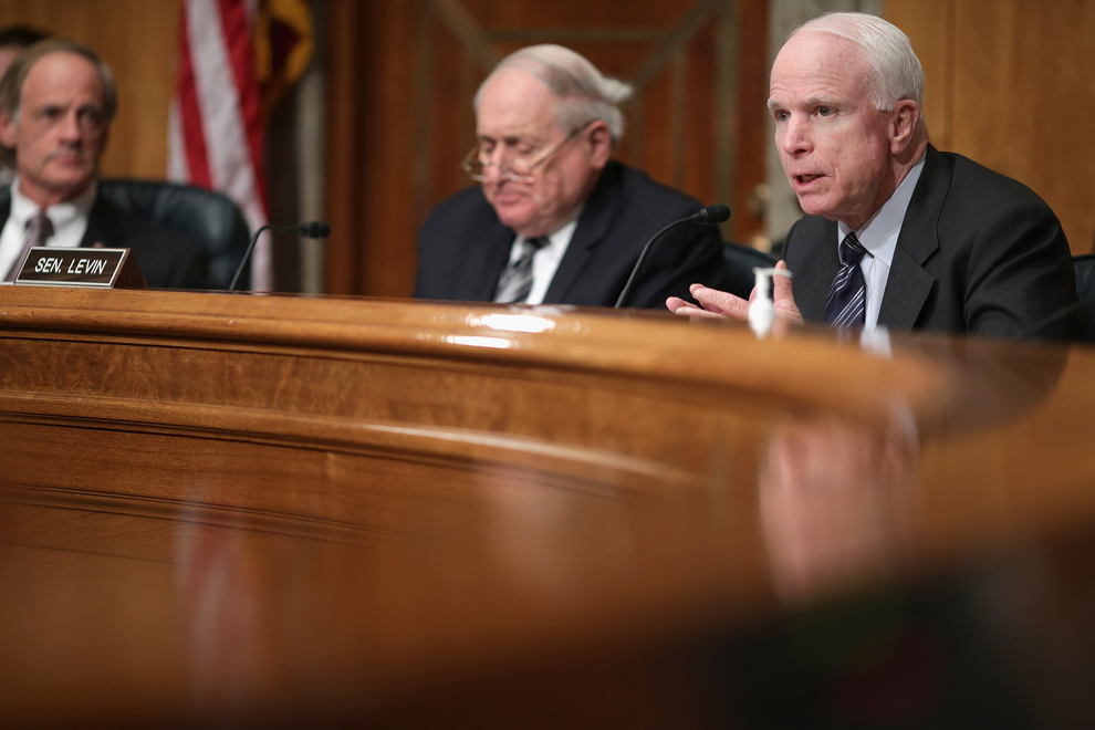 the career of senator john mccain a republican Sen john mccain was hospitalized in early april with diverticulitis, an intestinal issue republic reporter craig harris reports from mayo clinic hospital in phoenix michael chow/azcentralcom.