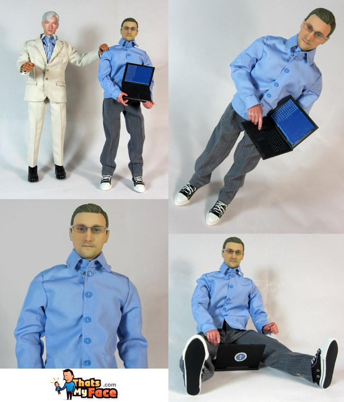 You Can Now Purchase an Edward Snowden Action Figure