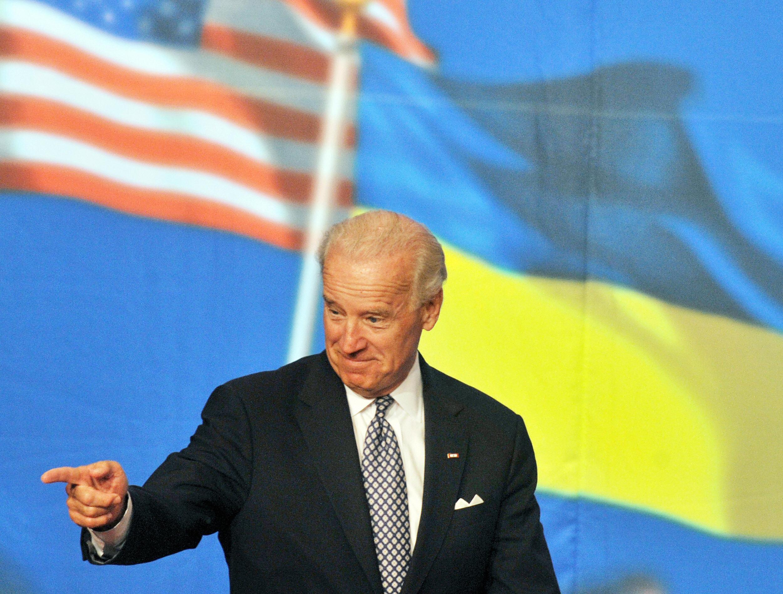 Joe Biden Lurks Behind Every U.S. Action on Ukraine