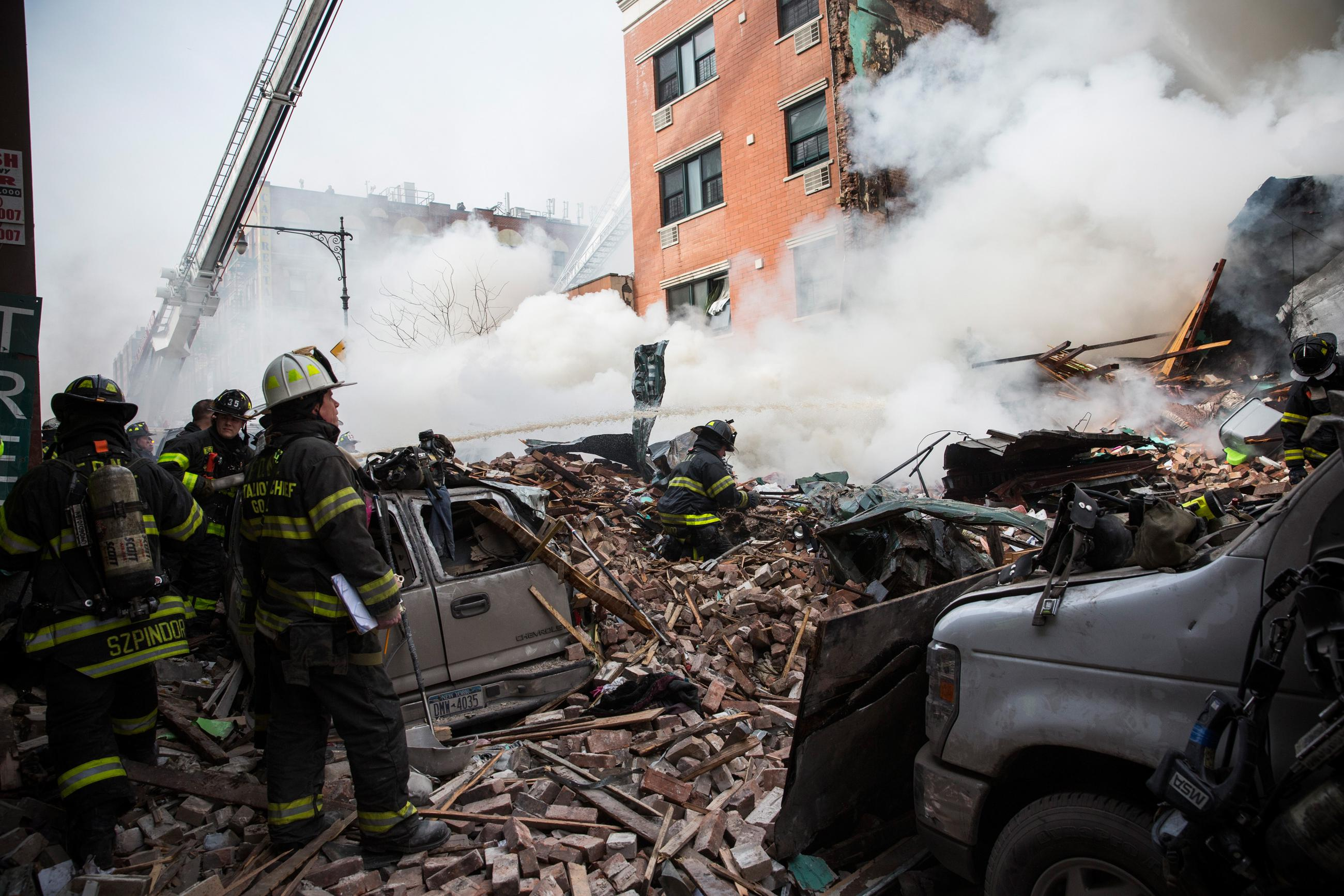 There's Been an Explosion and Building Collapse in New York City