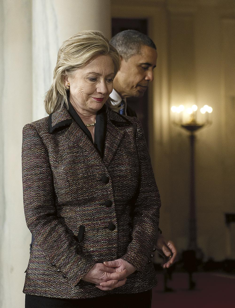 Hillary Clinton Steps Away From Obama on Foreign Policy