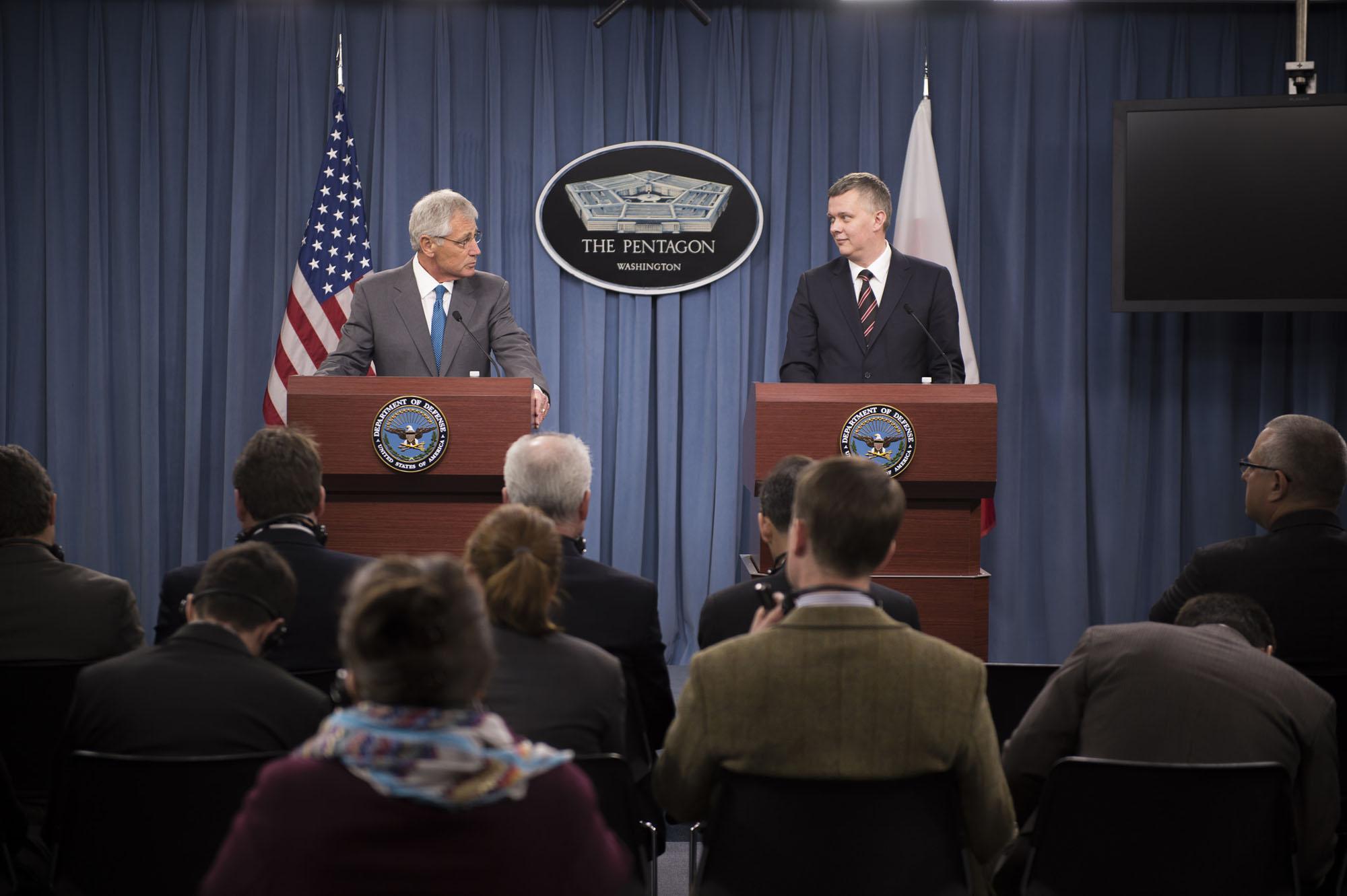 Hagel: U.S. May 'Adjust' Missile Defenses in Europe, As Tensions Rise