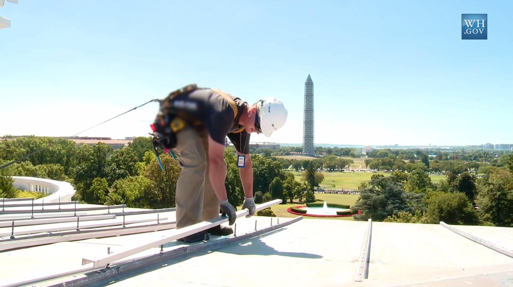 The White House Has Solar Panels … Again
