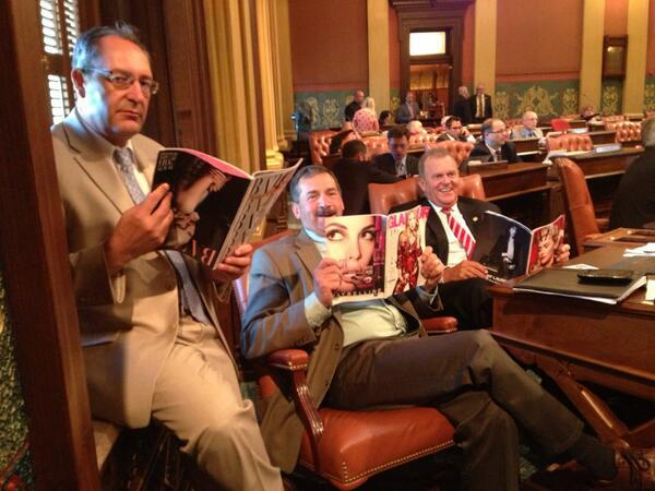Michigan Republicans: Don't Say We Don't Understand Women. We Read Fashion Magazines.