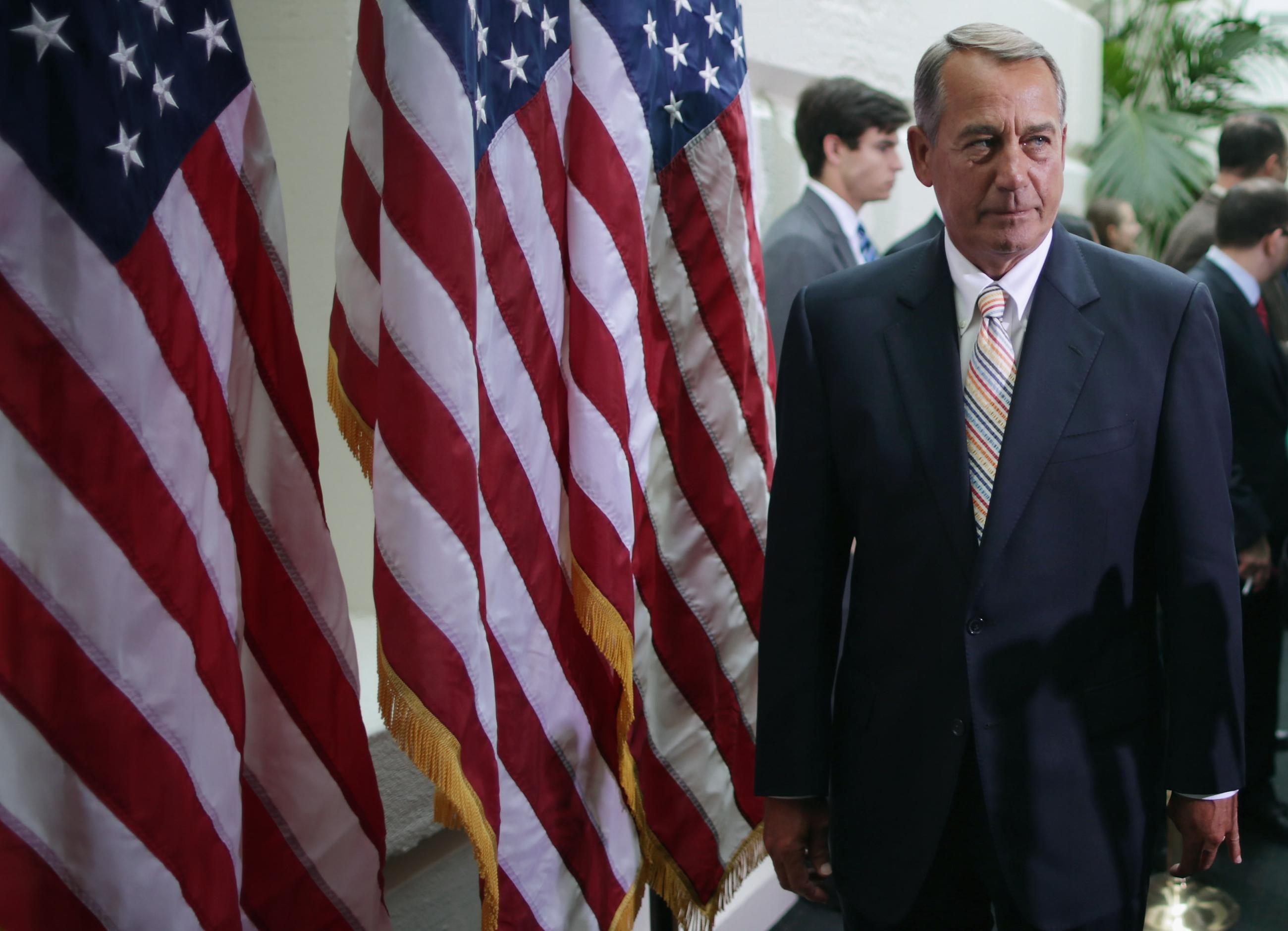 Boehner in Another GOP Quandary Over Border-Funding Request