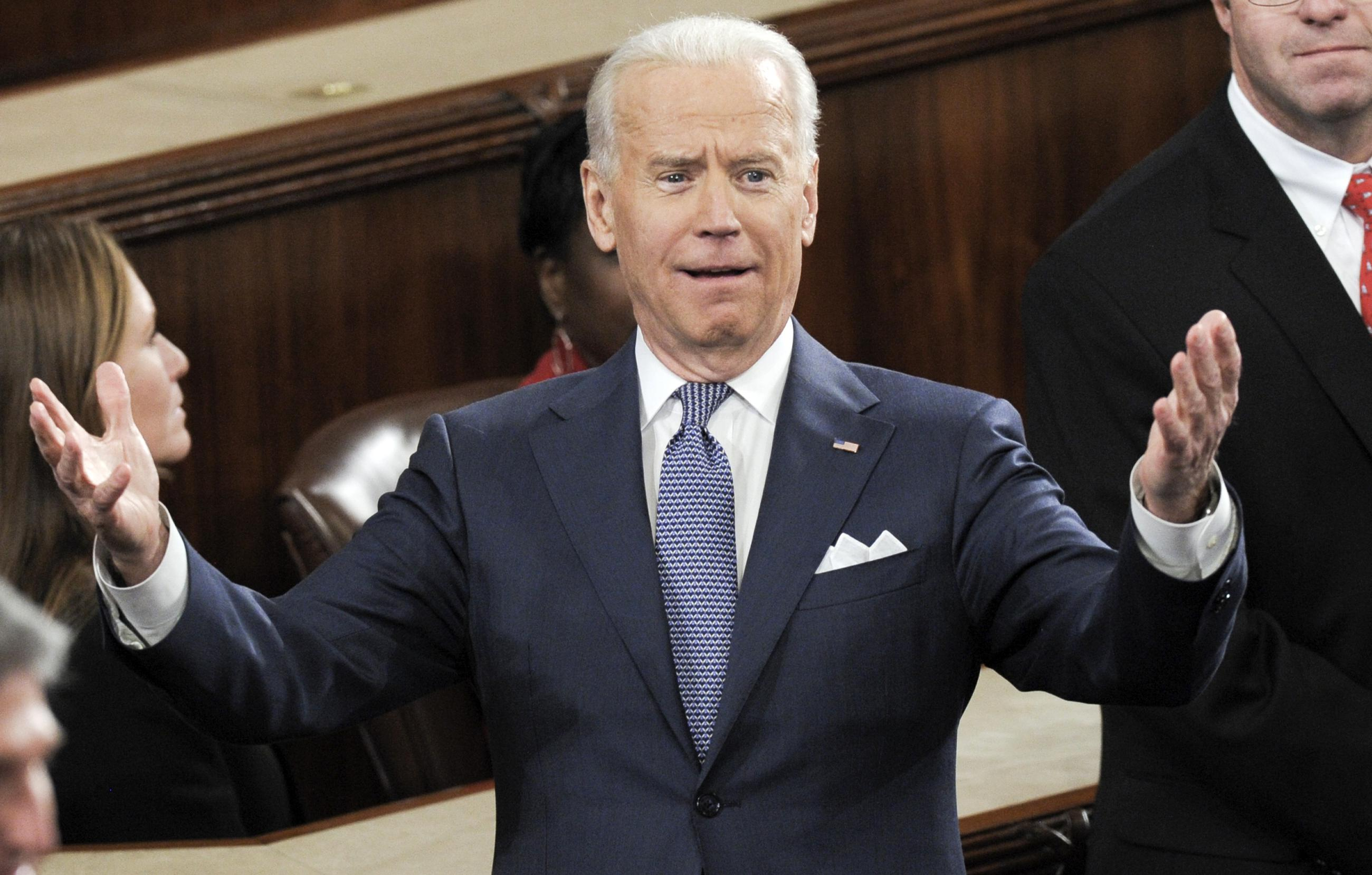 the most joe biden faces at the state of the union through the years
