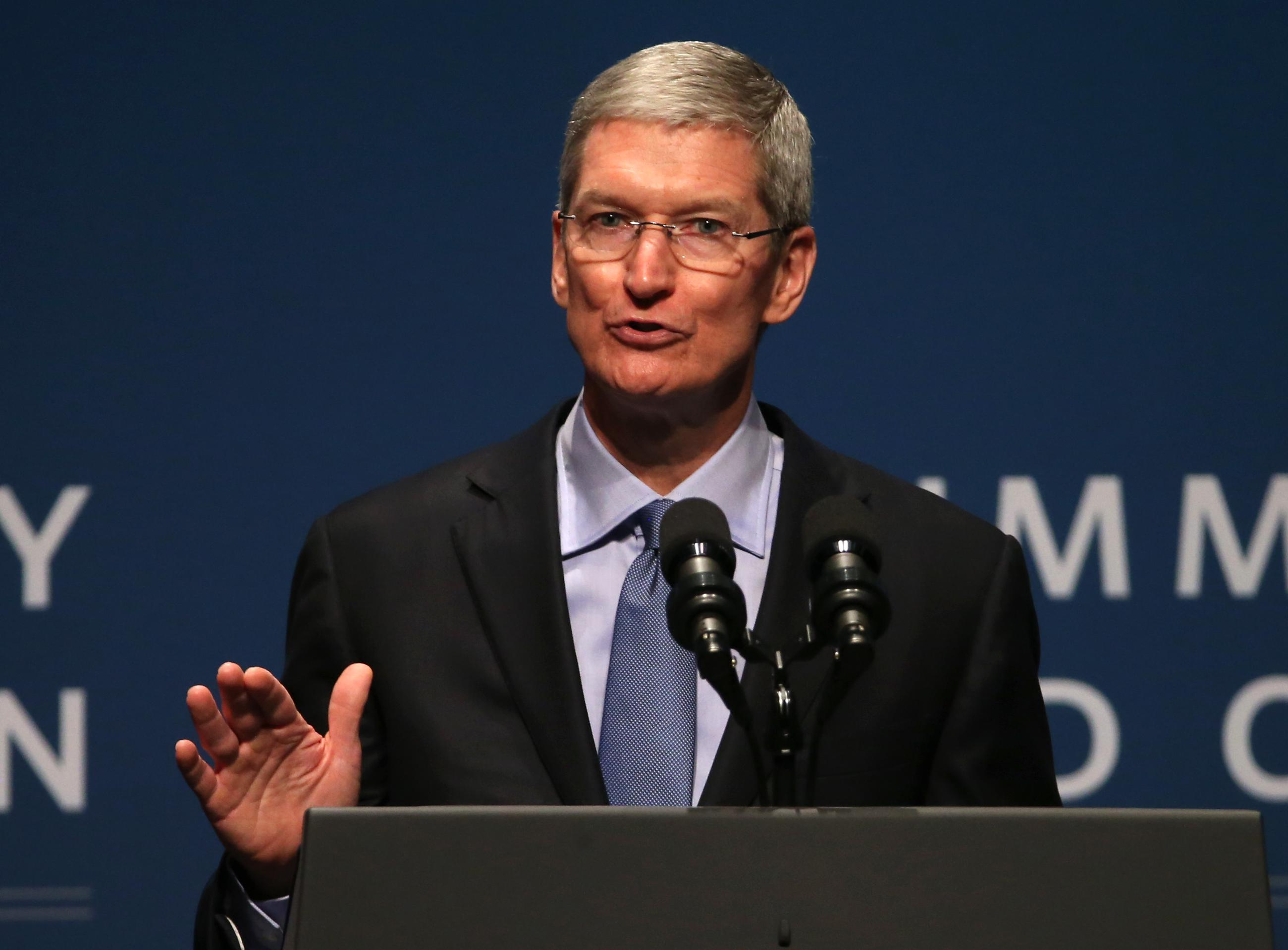 Apple CEO Declares Digital Privacy a Human Right
