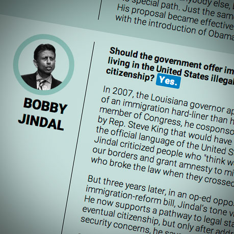 What do you think about immigration?