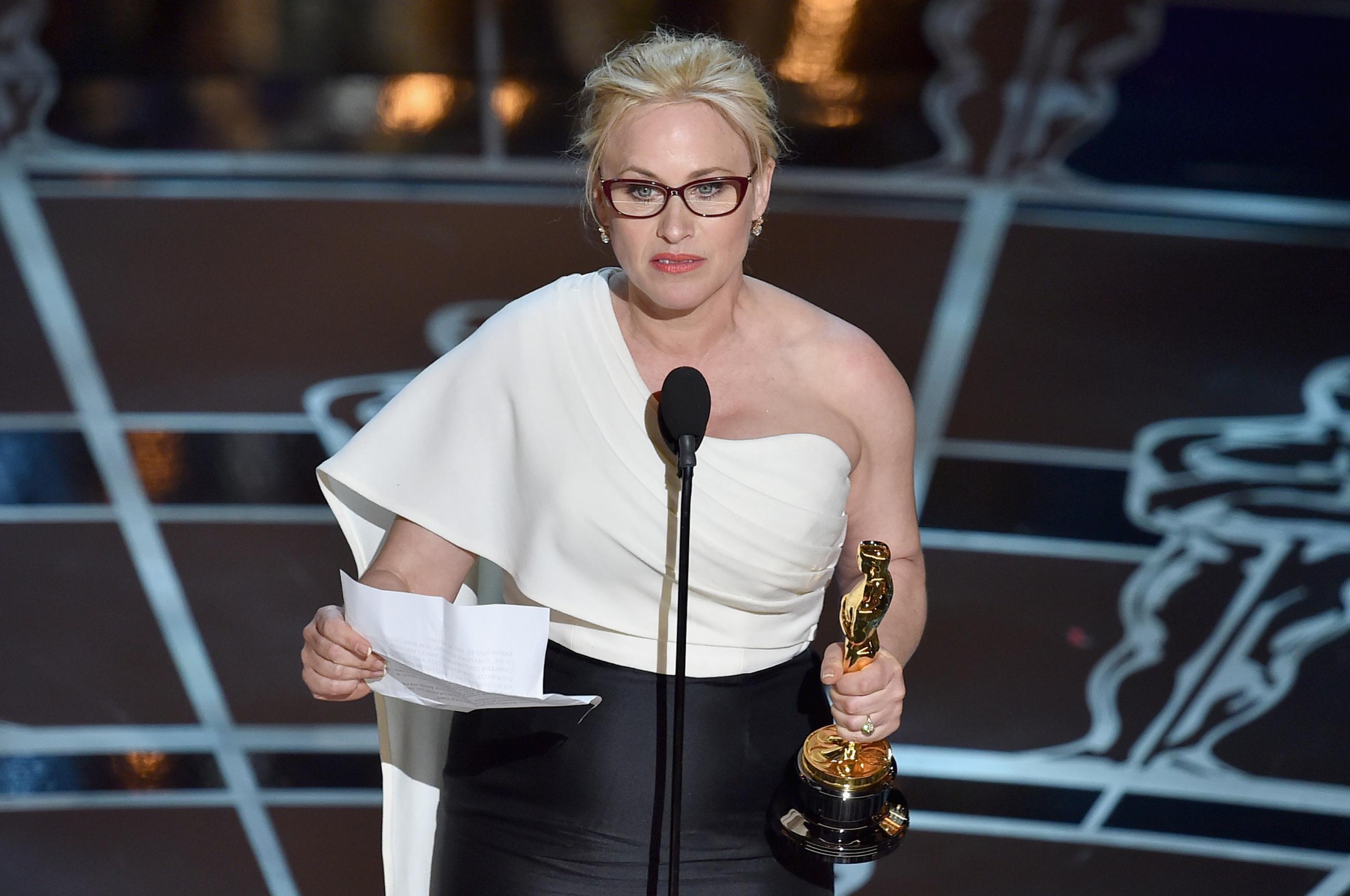Democratic Lawmakers Love Patricia Arquette's Equal-Pay Oscar Speech