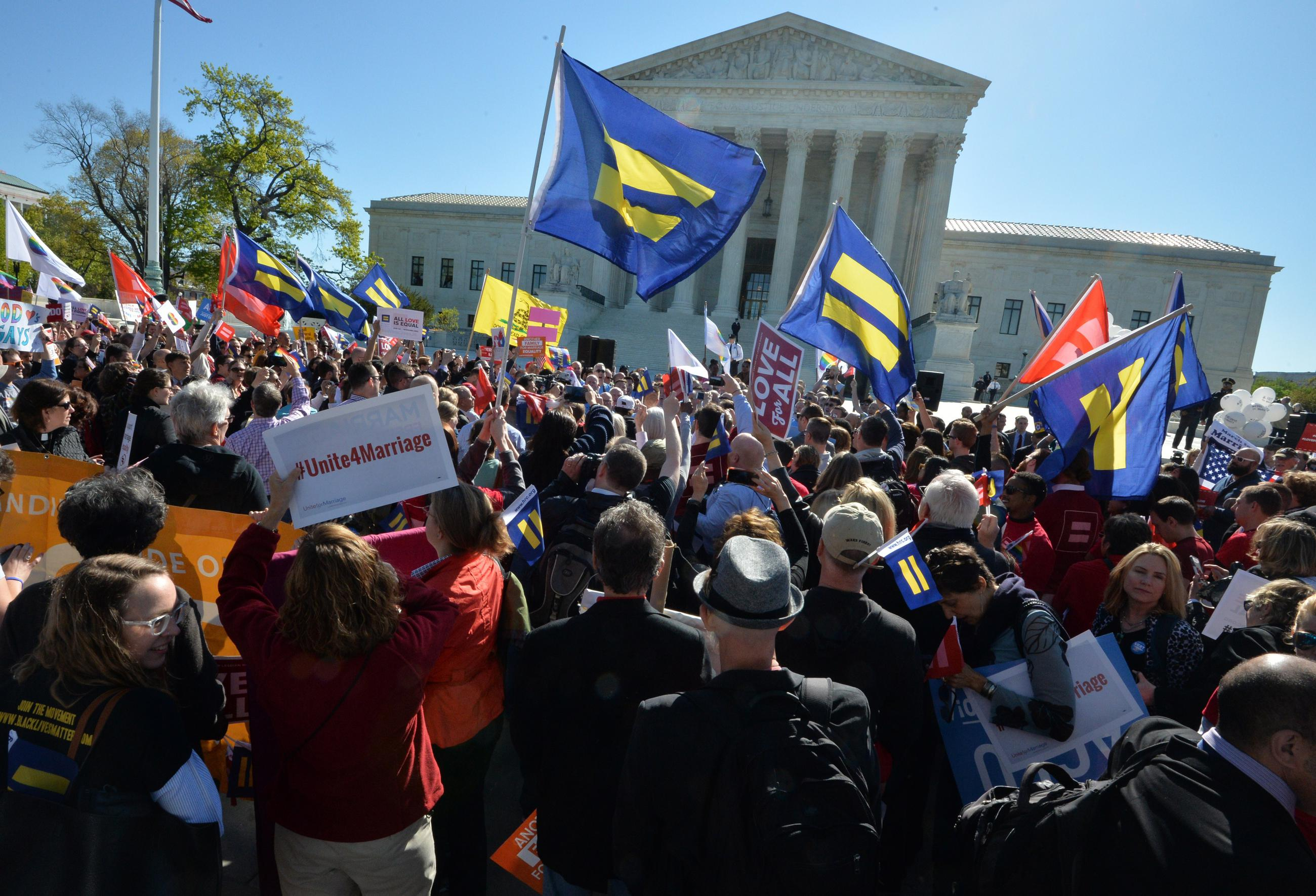 same sex marriages argumentative For some time the us supreme court has been leading from behind on same- sex marriage, allowing lower court decisions to transform the.