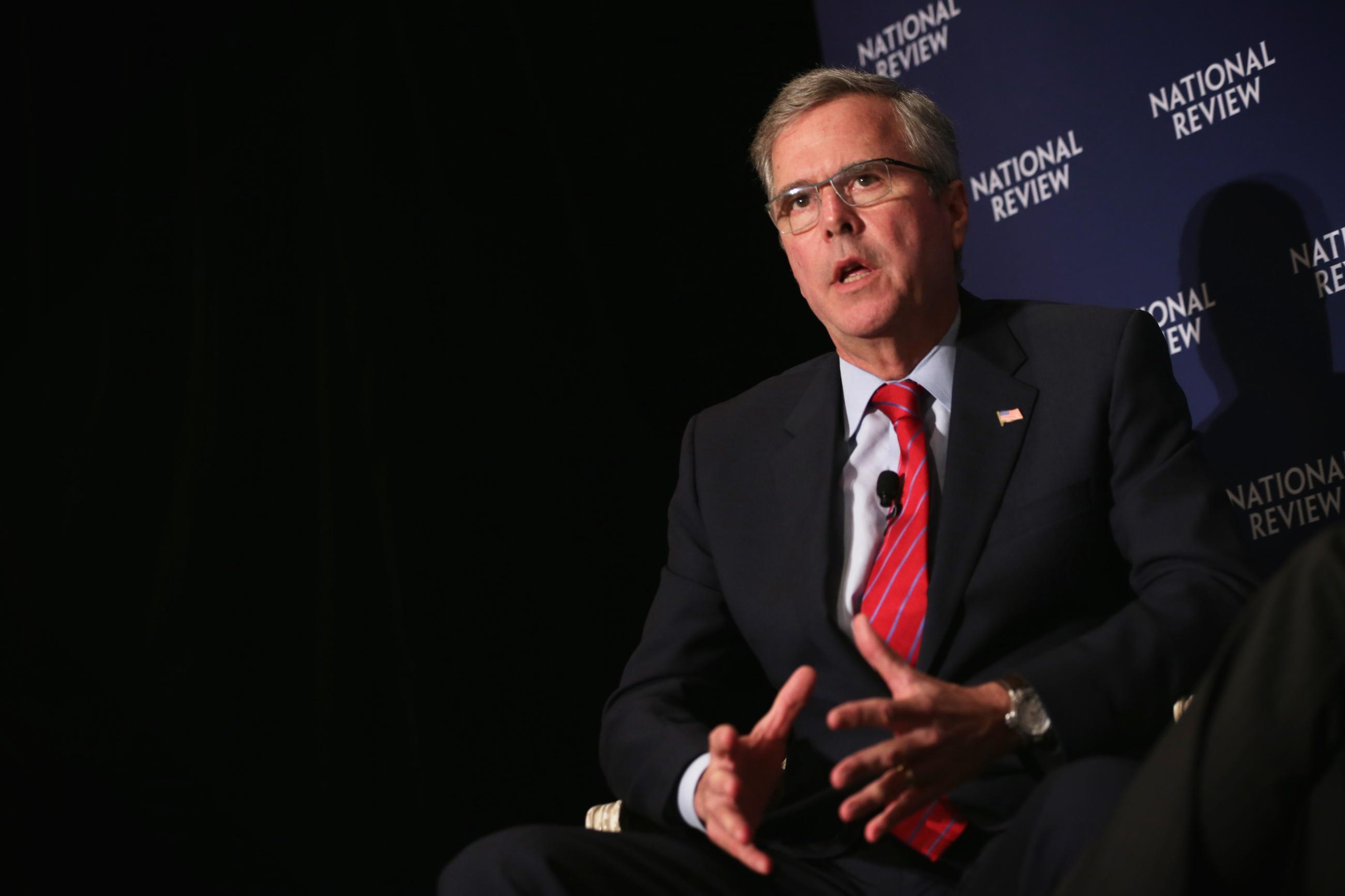 Jeb Bush's Four Different Answers to the Same Iraq Question