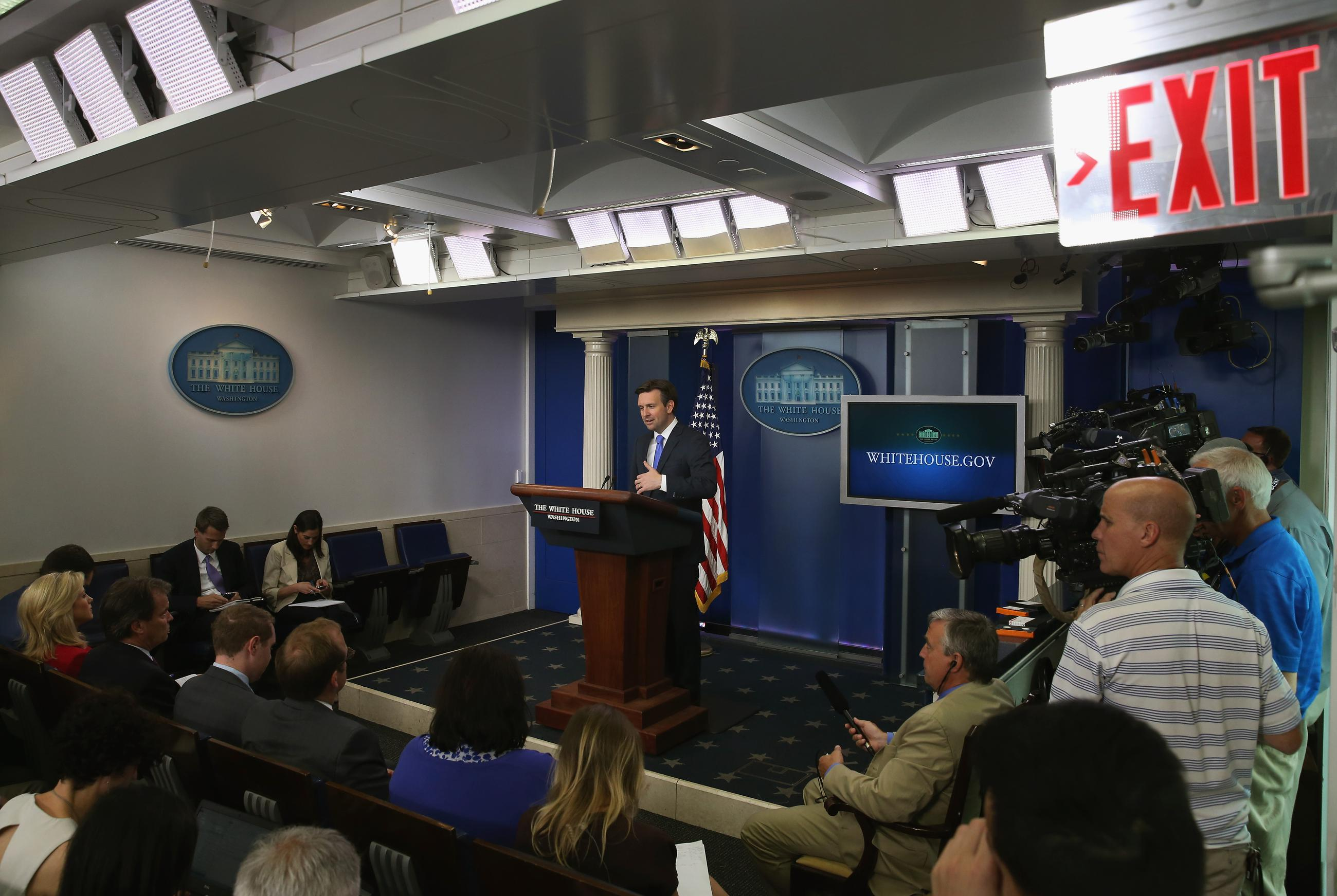 Why the White House Press Corps Was So Upset its Cameras Were Covered Up