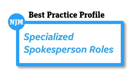 Specialized Spokesperson Roles