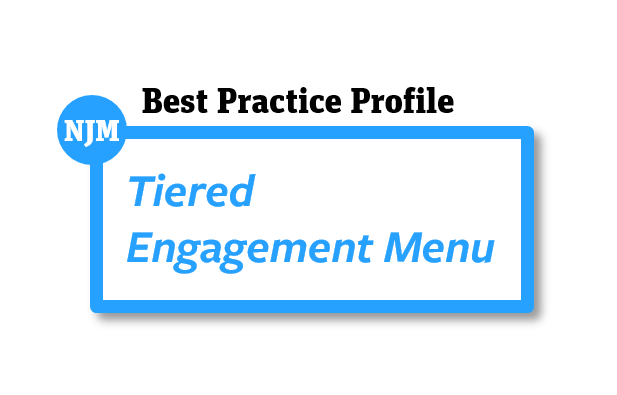 Tiered Engagement Menu