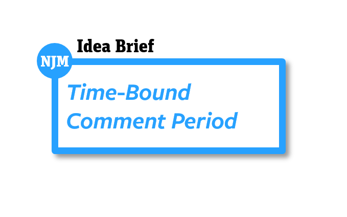 Time-Bound Comment Period