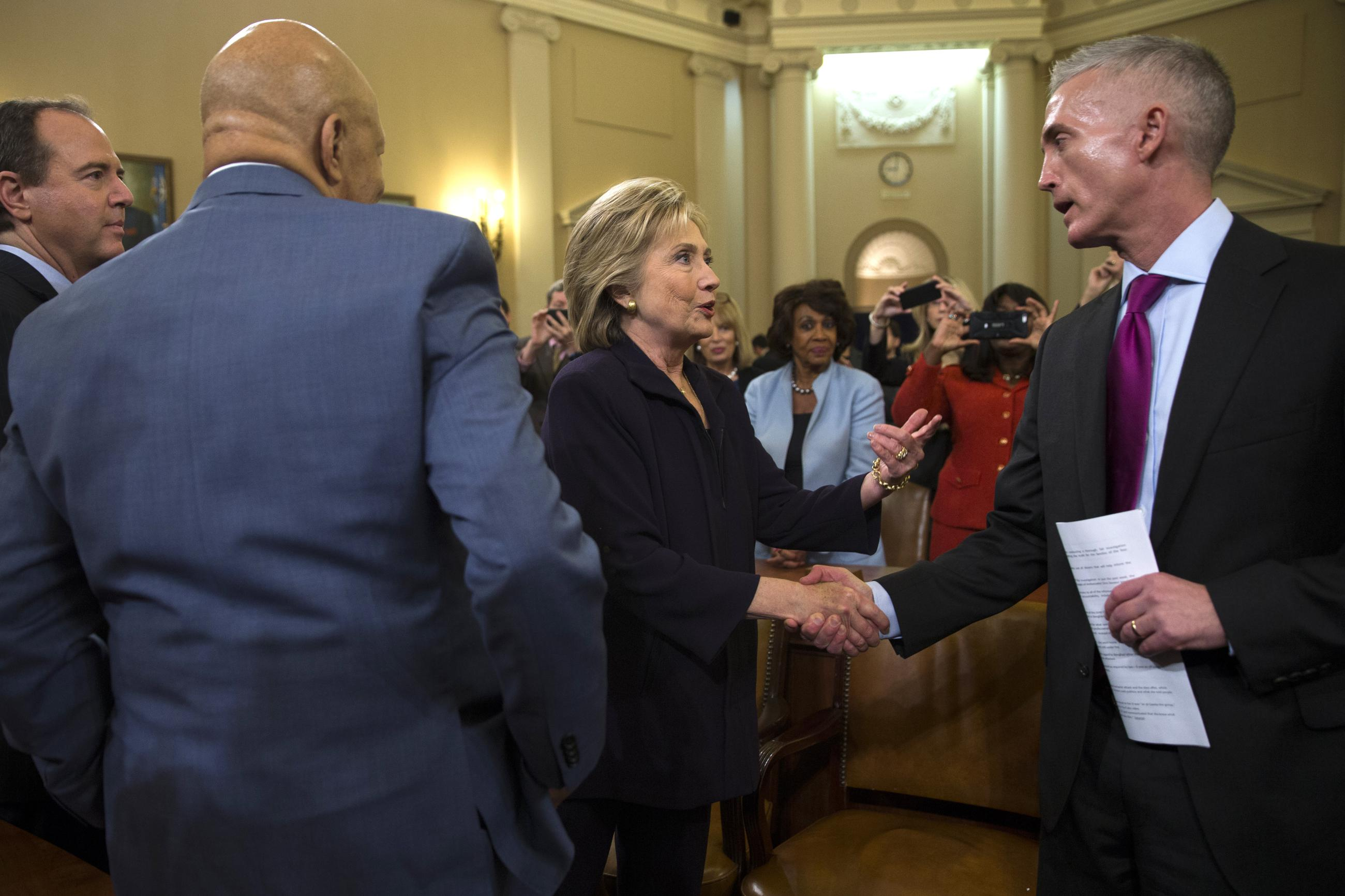 After Clinton Spectacle Benghazi Panel Goes Back Behind Closed Doors