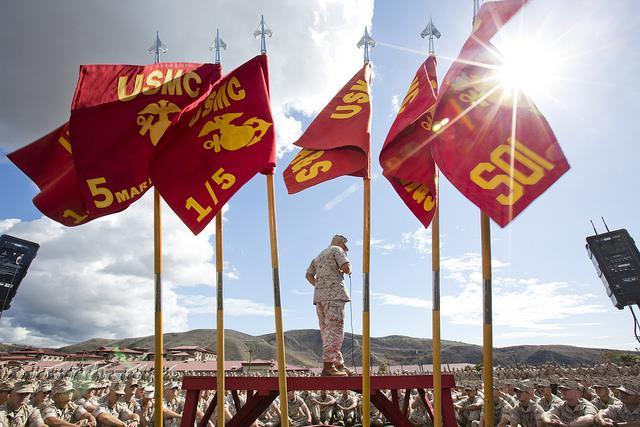 17 Badass Photos of the U.S. Marine Corps