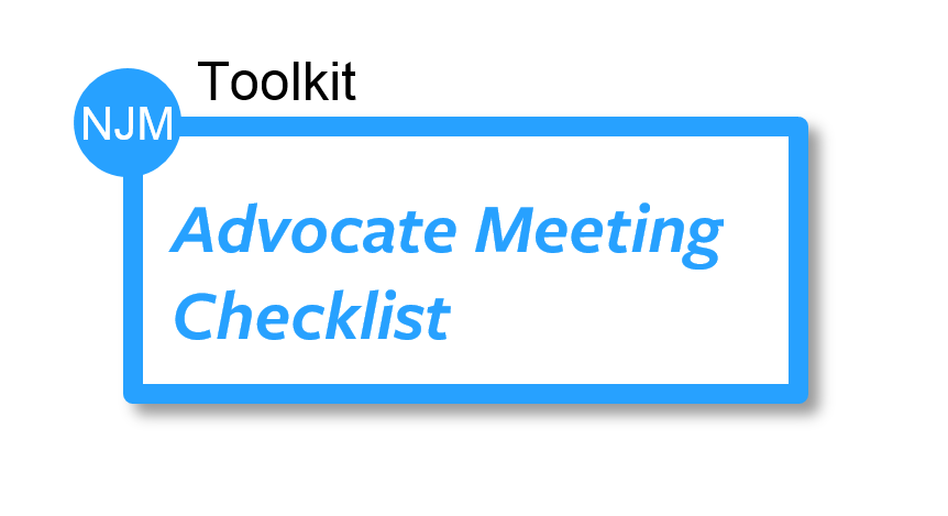 Advocate Meeting Checklist Tool