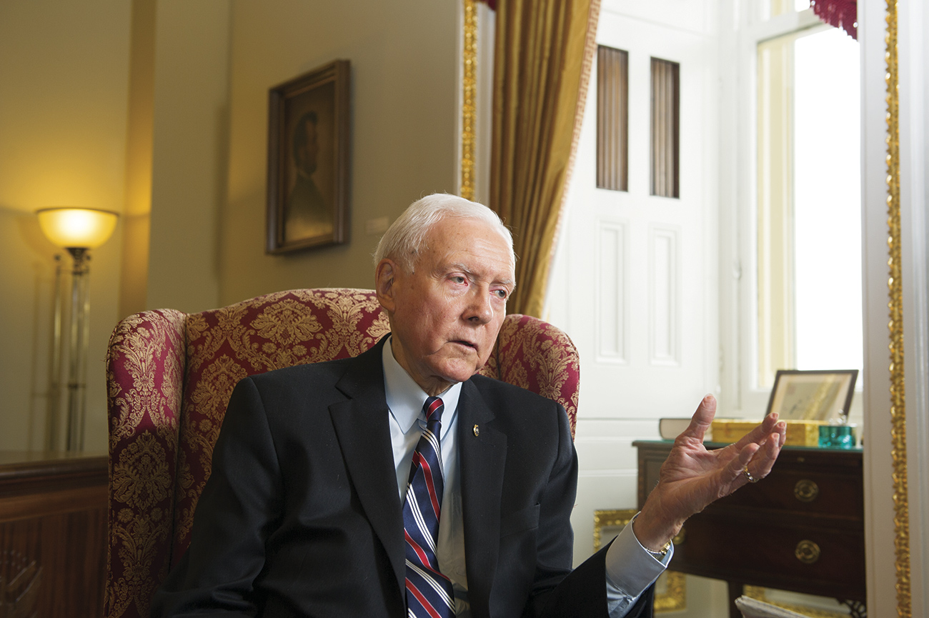 Mitt Romney 'Planning To Run' For Senate If Orrin Hatch Retires