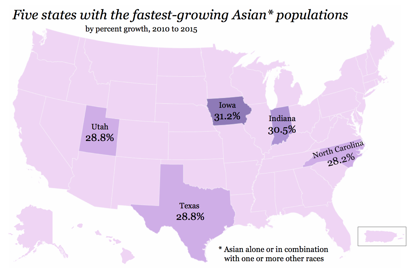 Asian-American population growth