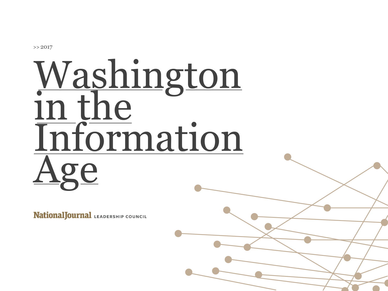 Washington in the Information Age 2017