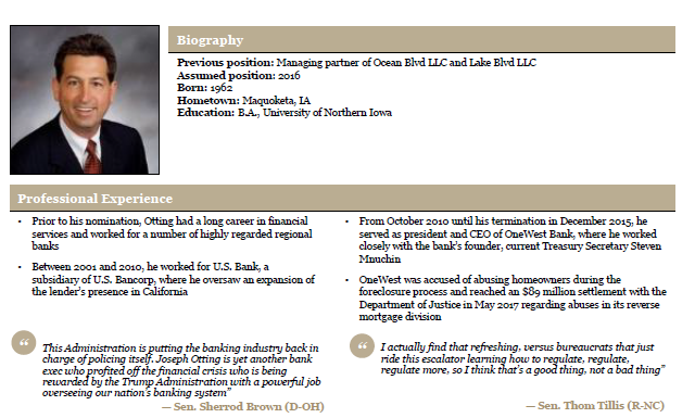 Joseph Otting profile