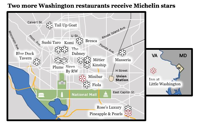 Washingtons Michelin Starred Restaurants