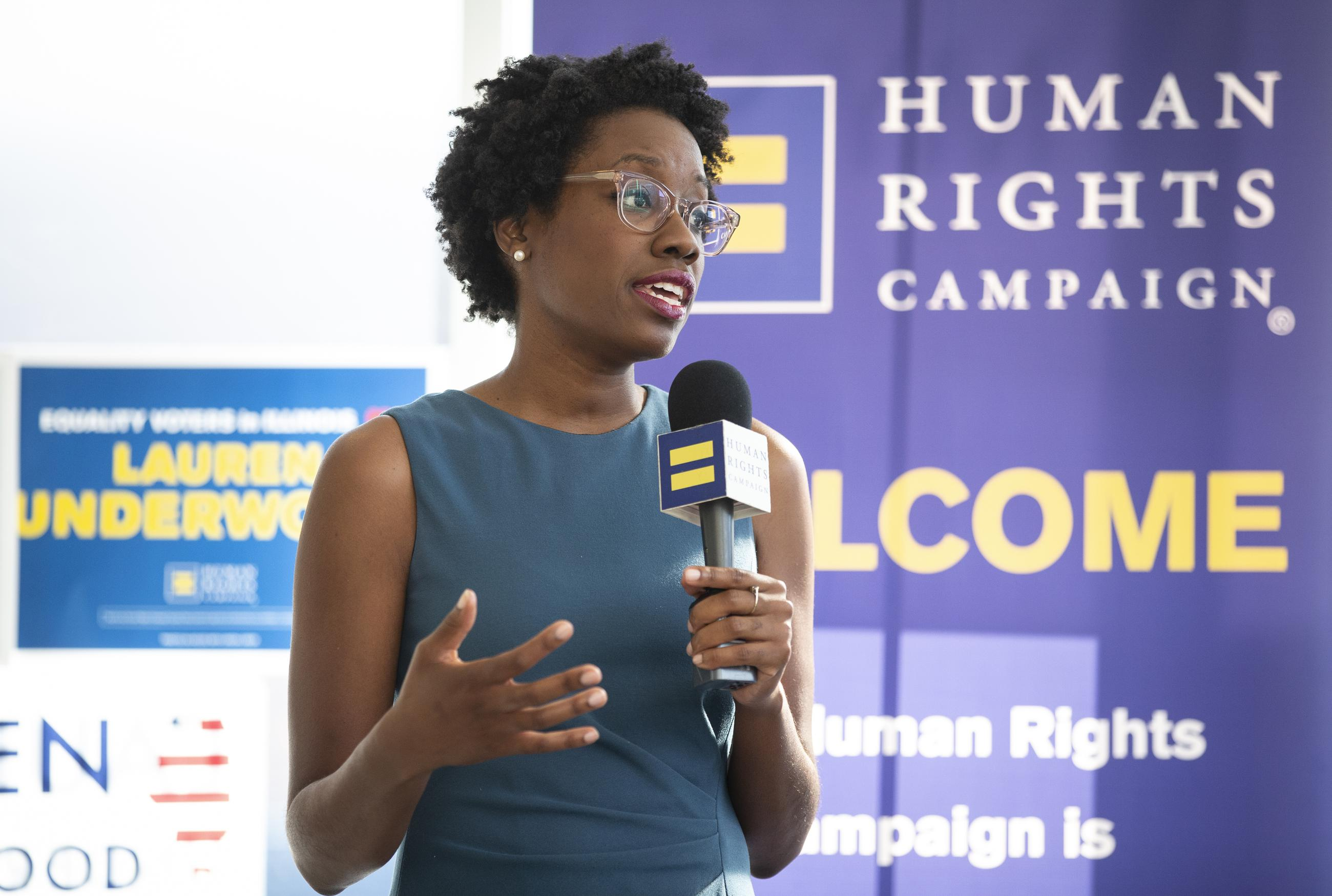Request Interview w/ Lauren Underwood (D. IL 14th District, HR)