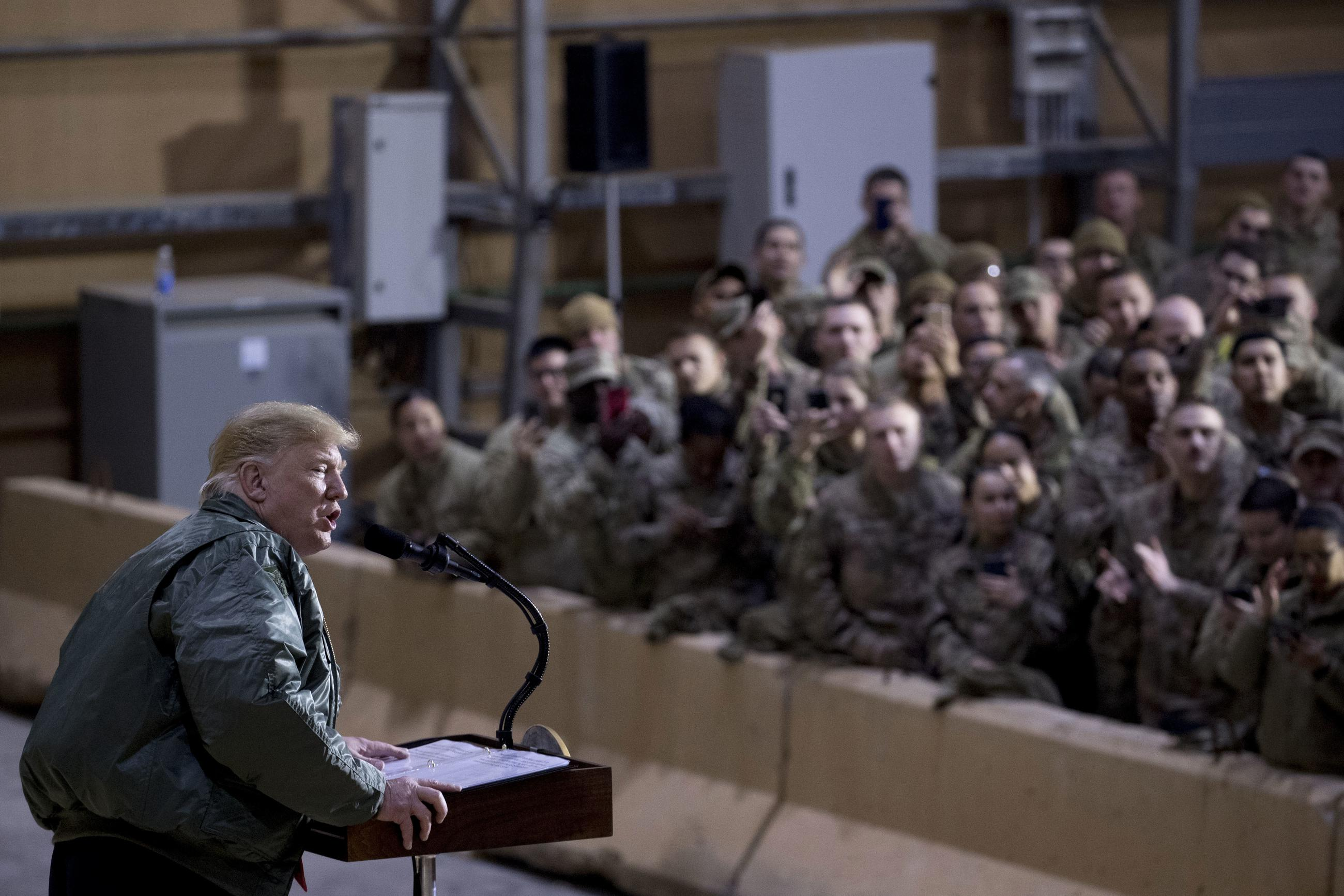 Trump's Mixed Messages on the Military