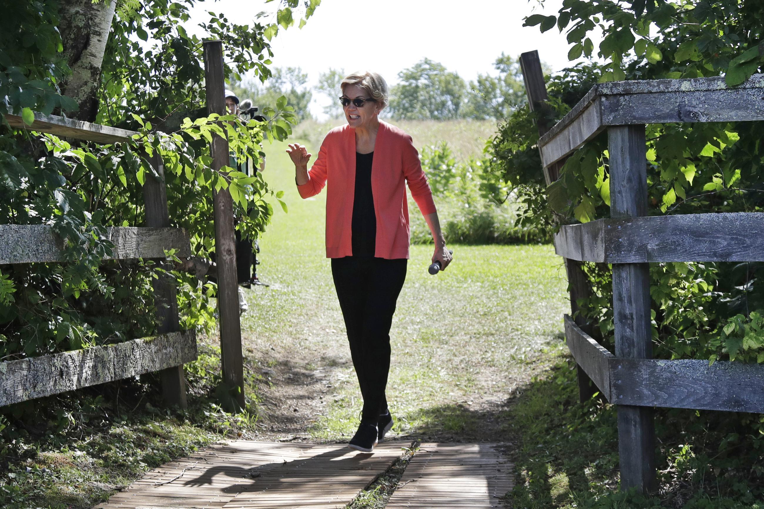 Why Elizabeth Warren Is Trump's Weakest Opponent