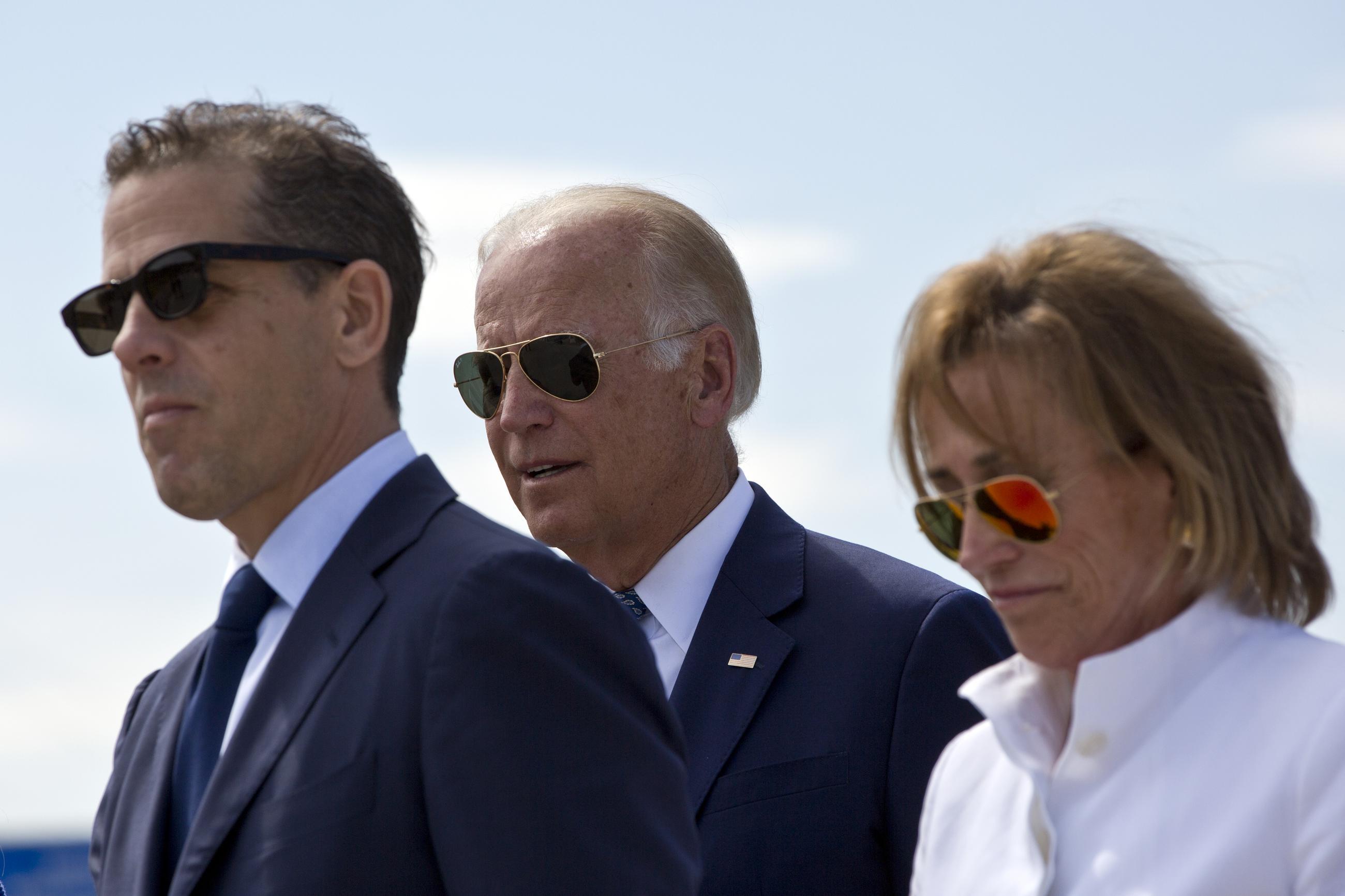 Family, once again, defines Biden's political career